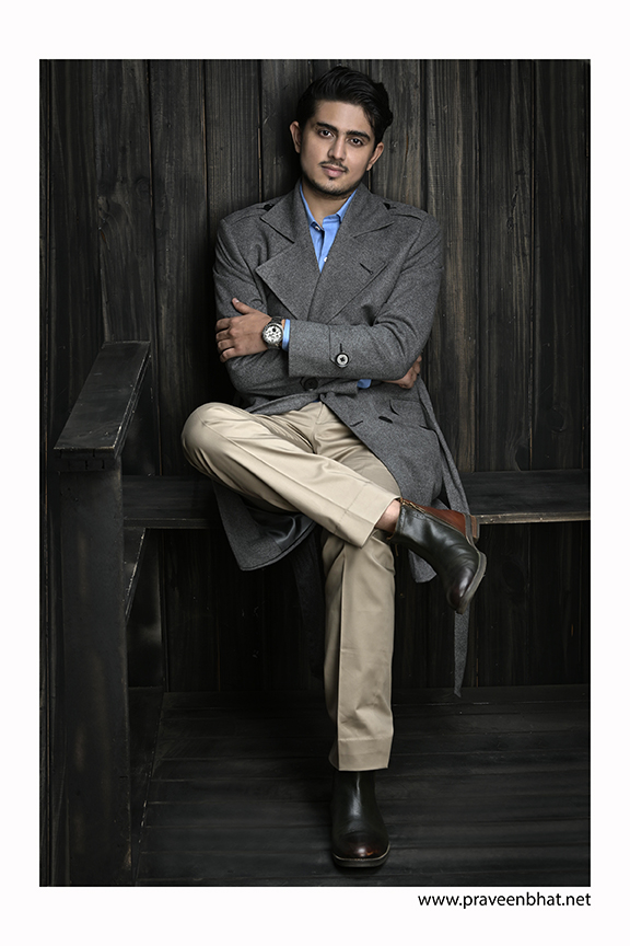indian male modeling